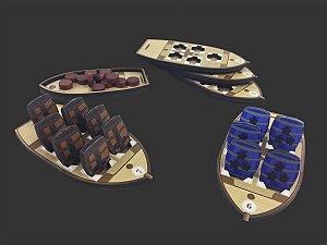 Kit de Barcos para Puerto Rico (5 unidades)