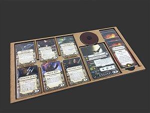 Dashboard para X-Wing (6 espaços para melhorias)