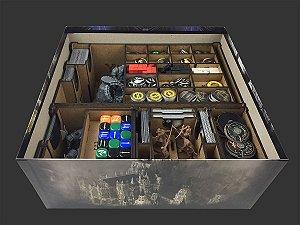 Organizador (Insert) para Dark Souls Board Game