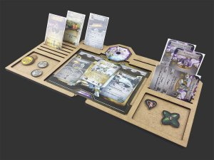Kit Dashboard para Sword & Sorcery (5 unidades) - SEM CASE