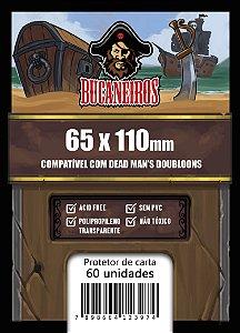 Sleeve Customizado - Dead Man's Doubloons 65x110
