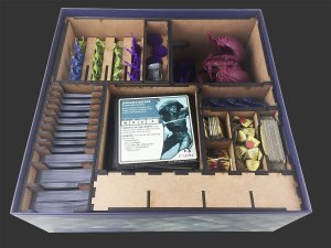 Organizador (Insert) para Dungeons & Dragons: The Legend of Drizzt - Board Game