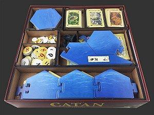 Organizador (Insert) para Catan - Versão GROW