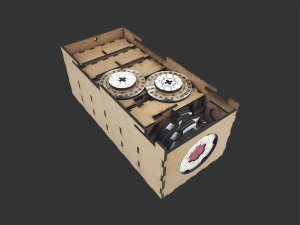 Caixa organizadora para Keyforge (DELUXE)