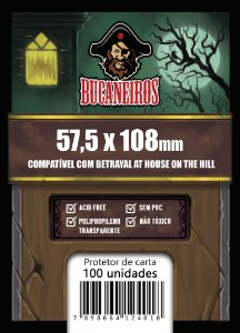 Sleeve Customizado - Betrayal At the House of Hill (57,5 x 108)