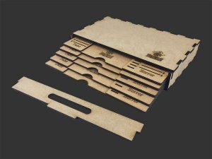 Kit Dashboard para Mansions of Madness (5 unidades) - COM CASE  2PJPVH6J6