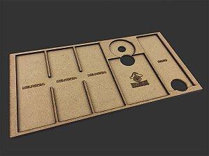 Dashboard para X-Wing - 6 espaços para melhorias (2.0)