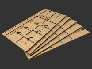 Kit Dashboard para Senhor dos Anéis - Jornadas na Terra Média (5 unidades) - SEM CASE