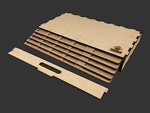 Kit Dashboard para Senhor dos Anéis - Jornadas na Terra Média (5 unidades) - COM CASE