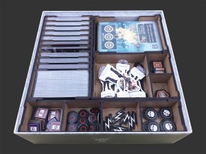 Organizador (insert) para God of War: The Card Game