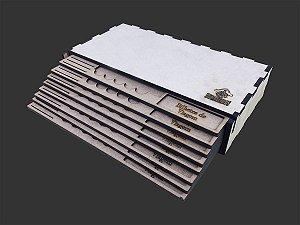 Kit Dashboards para Eldritch Horror  (8 Unidades) - COM CASE