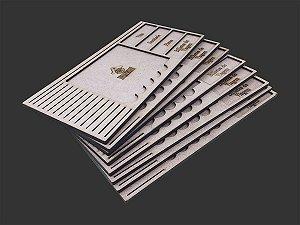 Kit Dashboard (painel) para Eldritch Horror  (8 Unidades) - SEM CASE