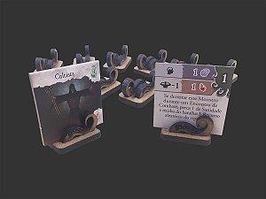 Kit de Suportes para Tokens de Monstros Normais para Eldritch Horror (10 unidades)