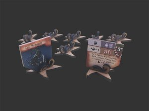 Kit de Suportes para Tokens de Monstros Épicos para Eldritch Horror (10 unidades)