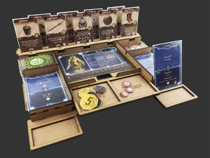 Kit Dashboard para Gloomhaven (4 Unidades) - COM CASE (VERSÃO NACIONAL)