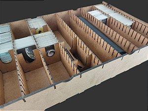 """Caixa organizadora """"Big Box"""" para Card Games (Genérico)- Modelo Vertical"""