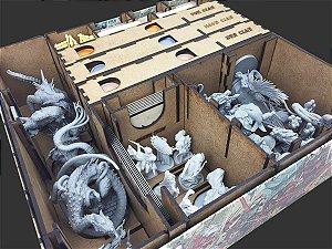Expansão Daimyo Box do Organizador (Insert) para Rising Sun