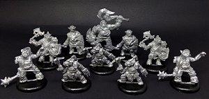 Miniaturas para RPG - Tropa dos Orcs (Kit com 10 miniaturas)