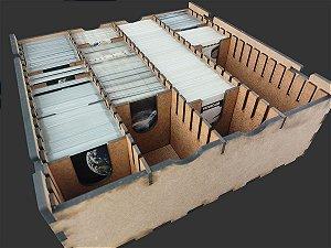 Caixa organizadora para Card Games (Genérico) - Modelo Vertical