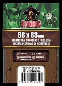 Sleeve Customizado Fichas Pequenas de Monstros - Masmorra: Dungeons of Arcadia (88 x 83)