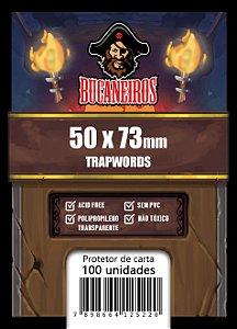 Sleeves Customizado - Trapwords (50x73)