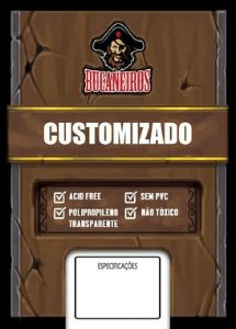 Sleeves Customizado - Uno (56x87)