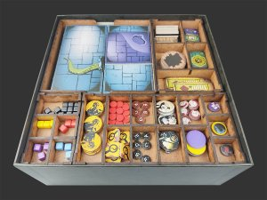 Organizador (insert) para Hellboy: The Board Game
