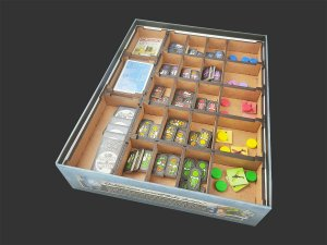 Organizador (insert) para The Manhattan Project