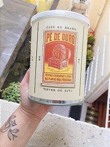 Café torrado especial na lata - Pé de Ouro  350g. ( gãos ) - Café Jetiboca