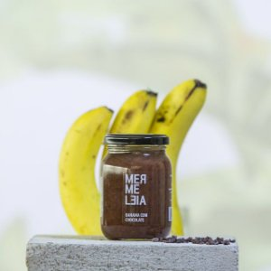 Geleia de Banana Com Chocolate