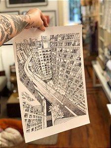 Co-criação Linha Jardim Secreto com o artista Danilo Zamboni