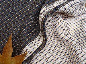 Tapete Cinza com barrado Cru #1