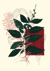 Eu Amuleto | Vinho (Print)
