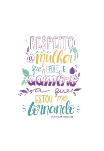 Respeito a mulher | PRINT
