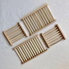 Saboneteira Artesanal de Bambu Grande