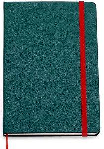 Caderneta Clássica 14x21 - Verde Musgo - Sem Pauta