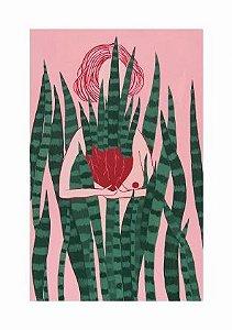 Coração na mão | Print FineArt | Quadro A3