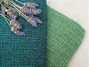 Manta Verde com Preto tamanho M