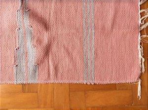 Passadeira bico lateral rosa e cinza