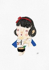 Saddest girl in Tokyo (A3)