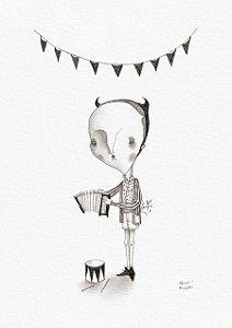 'Gloomy' (A4)