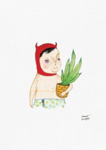 Devil's gardening day (A4)