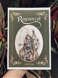 Coleção Contos de Fadas  - Rapunzel Print A5