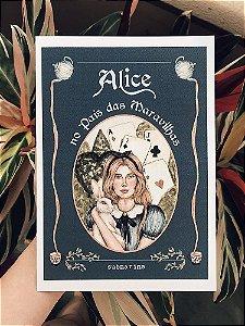 Coleção Contos de Fadas - Alice Print A5