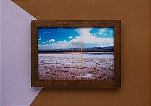 Foto bordada Porta Deserto