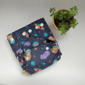 Ecofralda Pocket PUL Astronauta