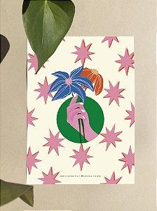 Print A4 - Traga Flores