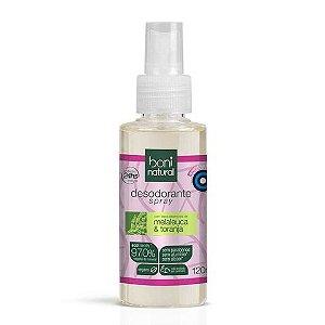 Desodorante Boni Natural Melaleuca e Toranja 120ml