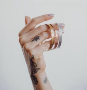 Bracelete P Alumínio - (c)alma