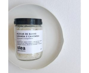 Esfoliante Açucar De Banho Com Lavanda + Camomila 150g